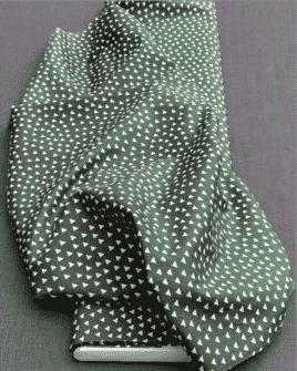 Tissu graphique : Motif Triangle | 2 Coloris