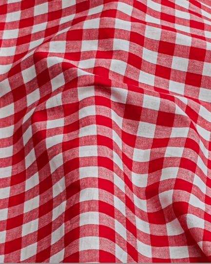 tissu carreaux