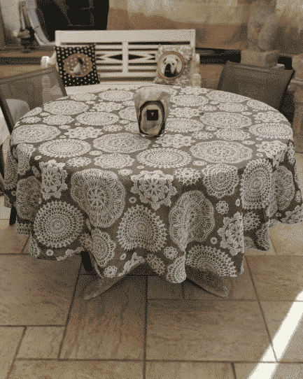 nappe chic polyester