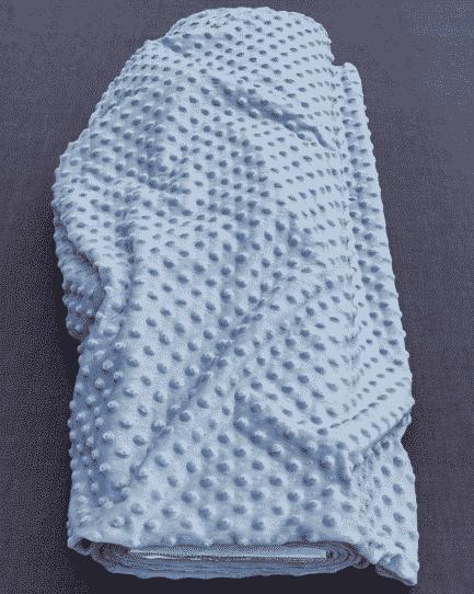 le tissu velours minkee est utile pour des gigoteuses bébé et la création de linge d'ameublement