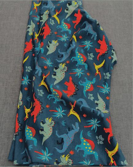 tissu dragon