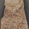 tissu coton motif dune