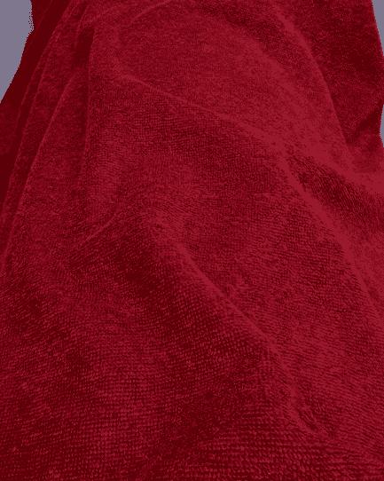 tissu micro éponge bambou bordeaux