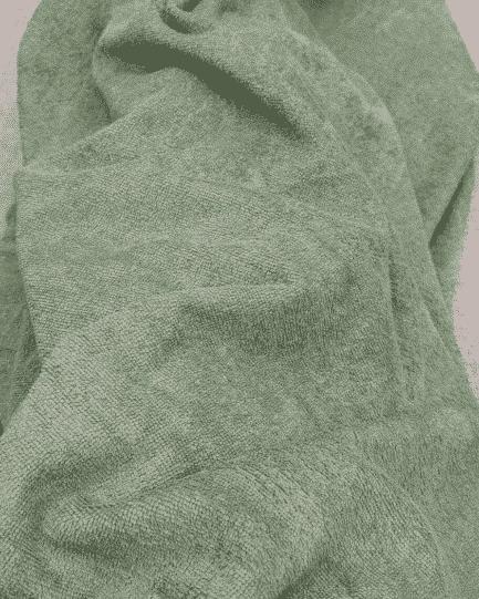notre tissu micro éponge bambou vert sauge est certifié oeko-tex