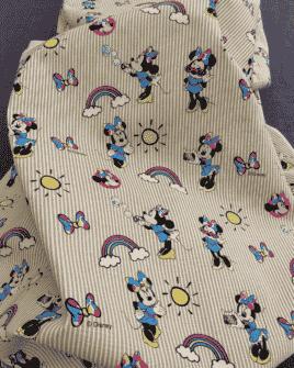 Tissu Coton Minnie Licence Disney