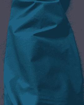 Tissu Coton Uni Bleu Pétrole
