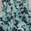 tissu coton cachemire vert bleu 2tissu coton cachemire vert bleu 2