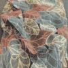 tissu jersey feuille multicolore